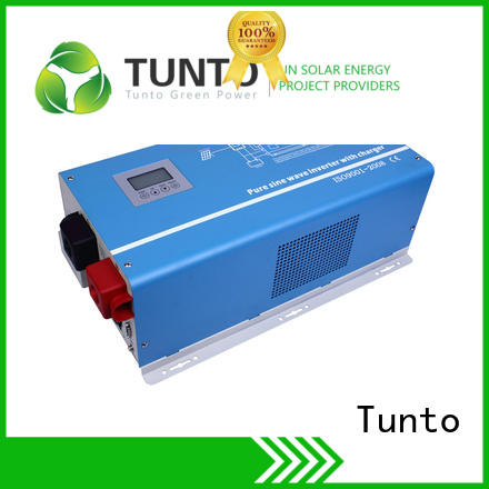 Tunto pure off grid solar inverter factory price for lights