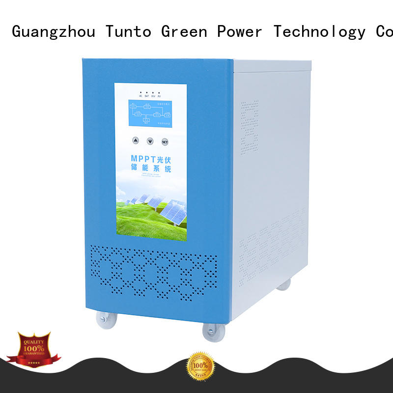Tunto carborne solar inverter system personalized for lamp