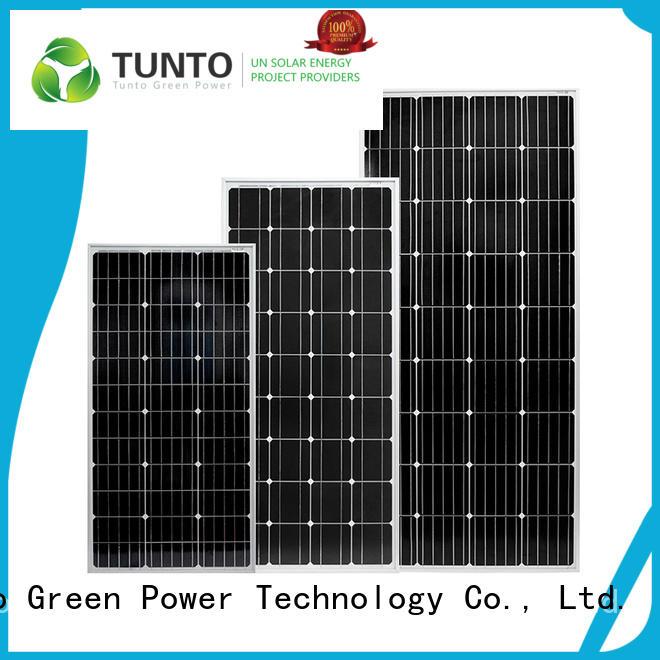 Tunto durable off grid solar panel kits design for street lamp