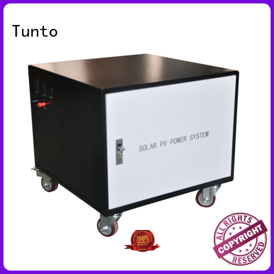 solar inverter system 10w for outdoor Tunto