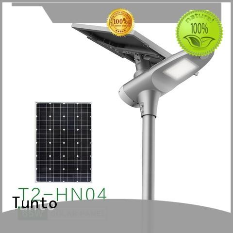 Tunto 60w integrated solar street light wholesale for road