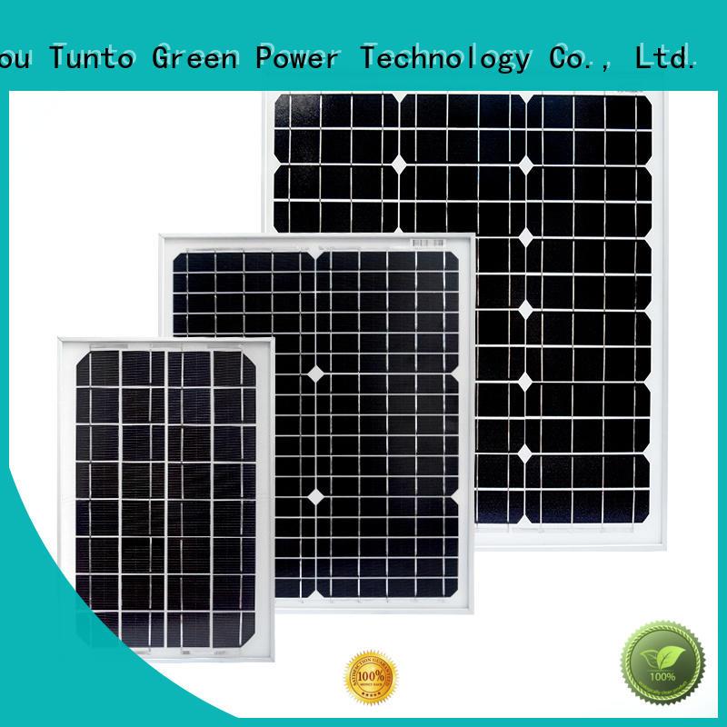 Tunto 150w off grid solar panel kits wholesale for solar plant