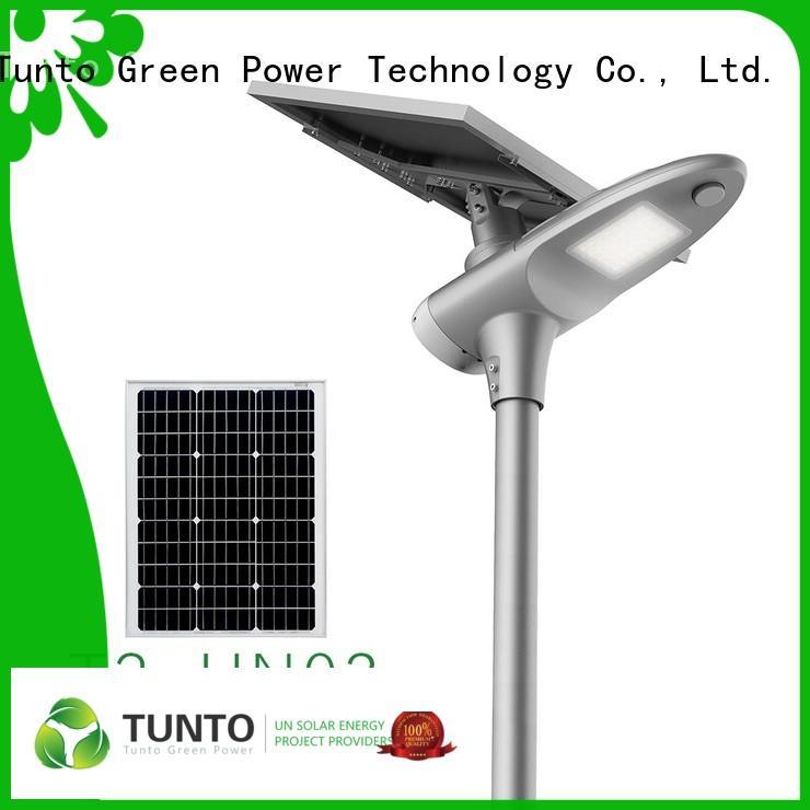 Energy Saving Cool Warm All In One Solar Street Light 30W T2-HN03