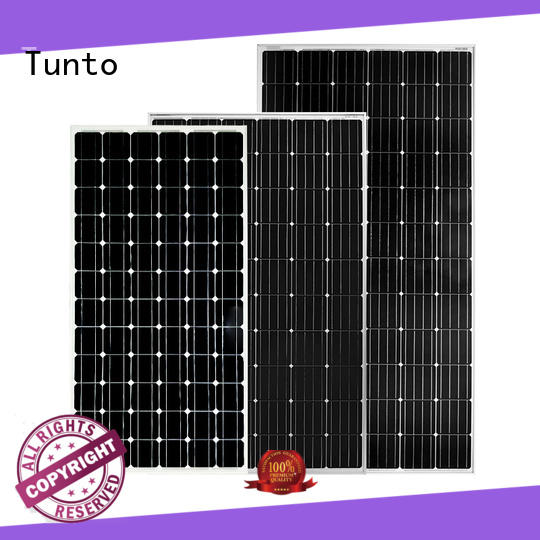 Tunto 100w off grid solar panel kits supplier for farm