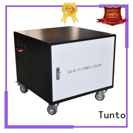 Tunto 200w portable solar power generator directly sale for outdoor