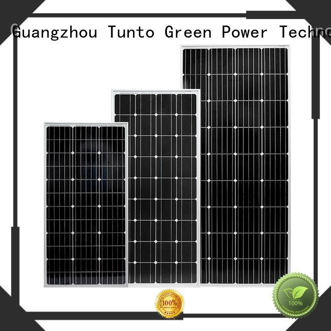 Tunto off grid solar panel kits wholesale for solar plant