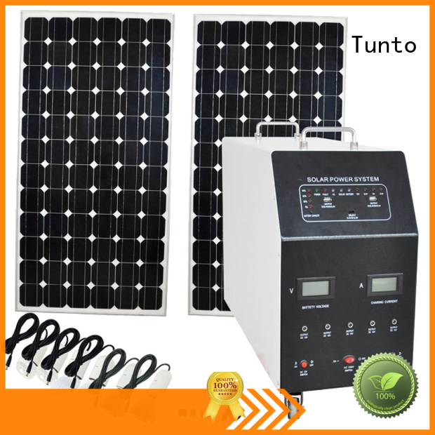Tunto 5kw monocrystalline solar panel customized for road