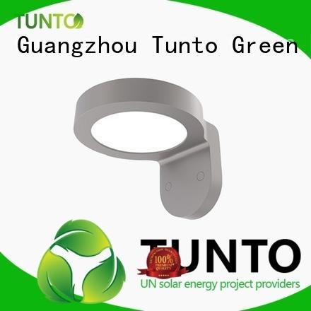 outdoor solar garden lights with good price for plaza Tunto
