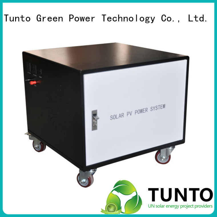 Tunto portable solar inverter system customized for road