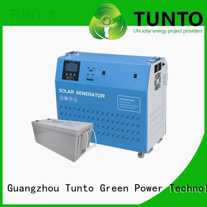 Tunto 6000w solar inverter system customized for street