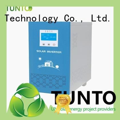 Tunto monocrystalline solar panel series for outdoor