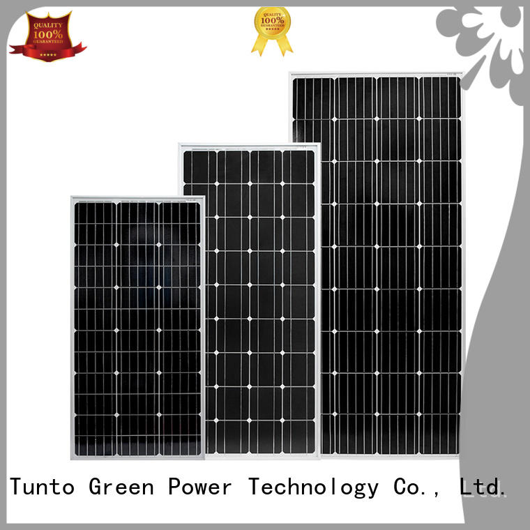 Tunto 150w monocrystalline solar panel personalized for farm
