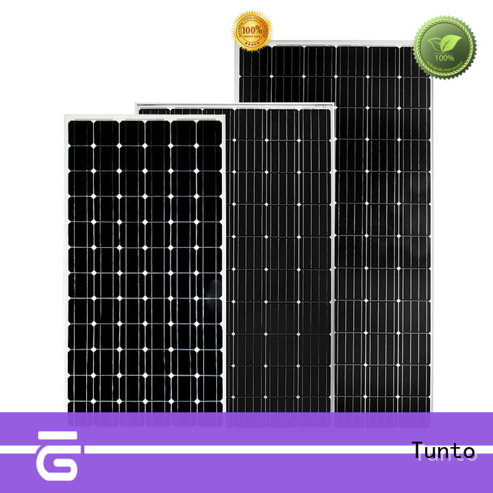 Tunto polycrystalline solar panel personalized for solar plant