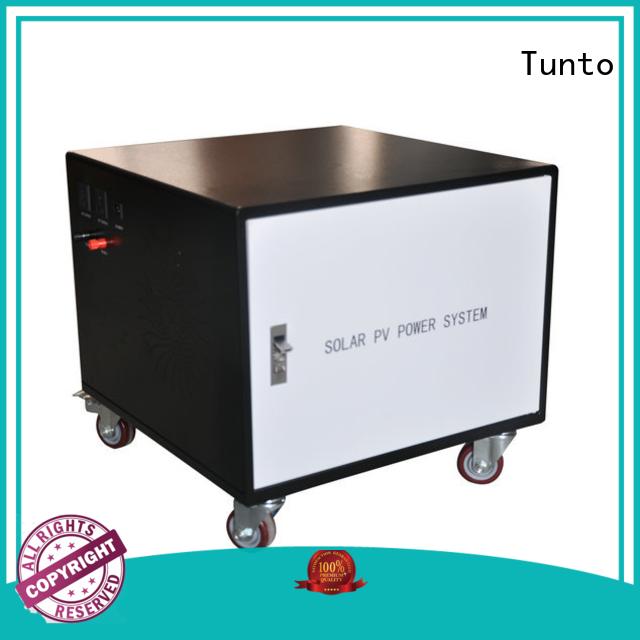 500w best solar generator 3000w for street Tunto