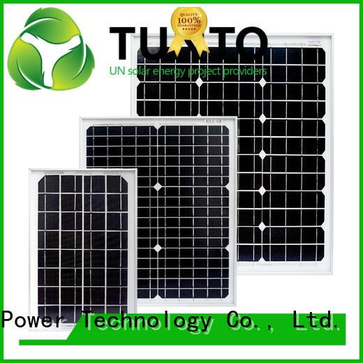 Tunto monocrystalline polycrystalline solar panel supplier for street lamp