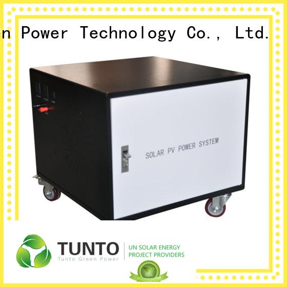 Tunto mini solar panel power inverter 1000w for road