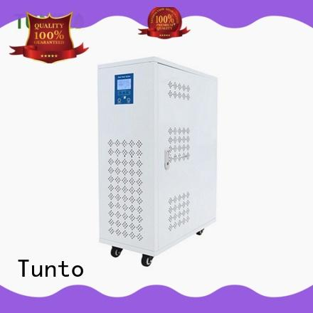 Tunto voltage protection solar generator kit customized for home