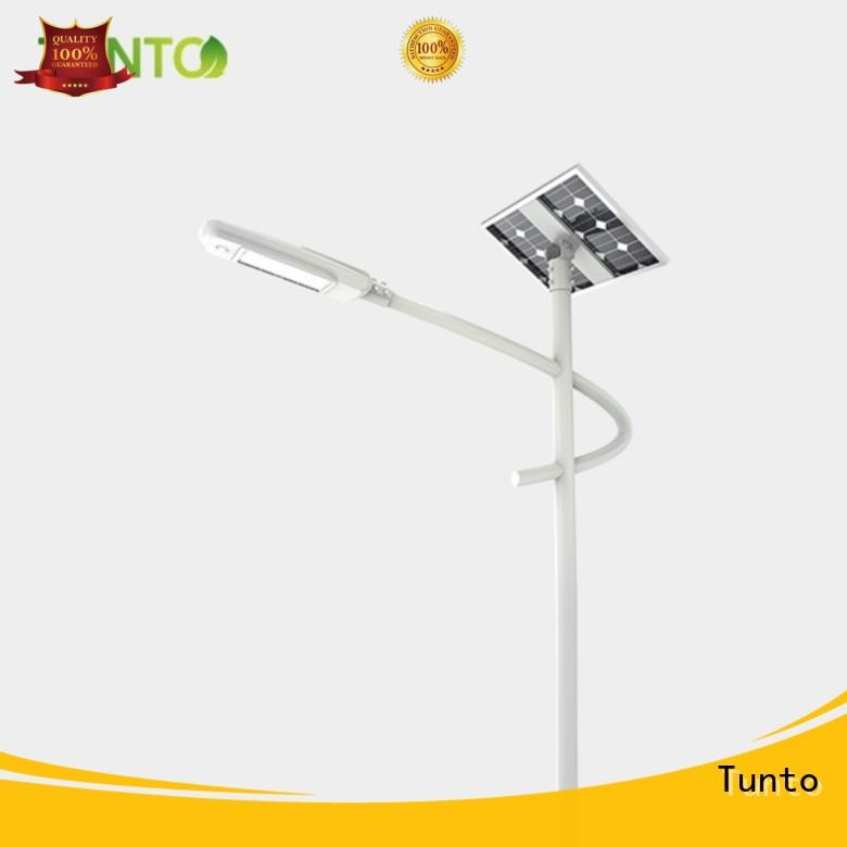Tunto solar panel outdoor lights personalized for parking lot