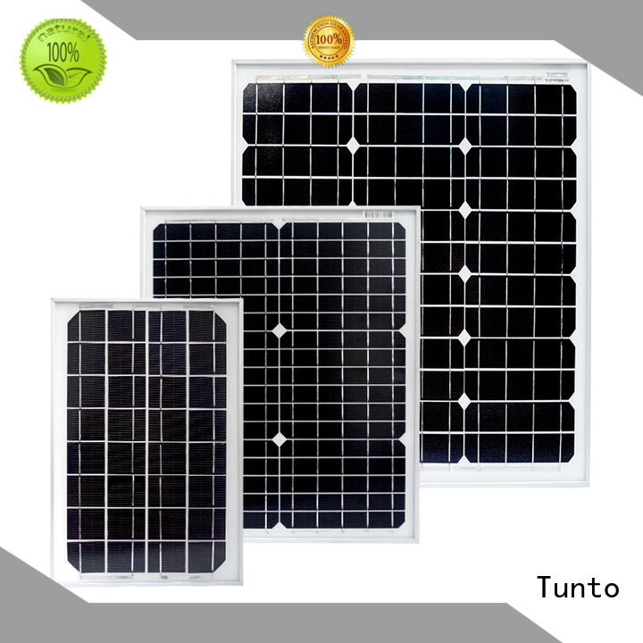 Tunto monocrystalline solar panel supplier for street lamp