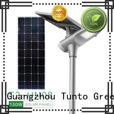 Tunto solar powered outside lights personalized for parking lot