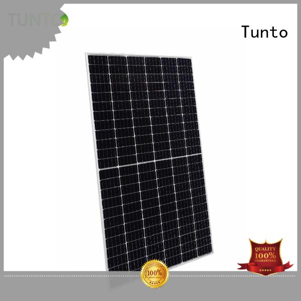 Tunto bright solar lights from China for plaza
