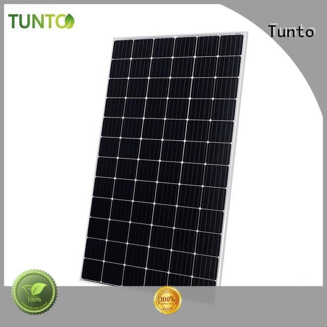 Tunto monocrystalline solar panel wholesale for household