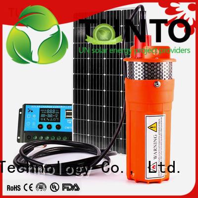 solar garden agriculture Tunto Brand solar powered water pump supplier