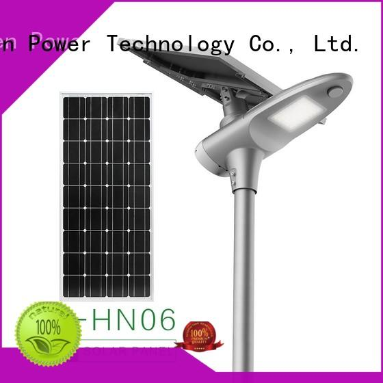 60w solar led street light factory price for parking lot