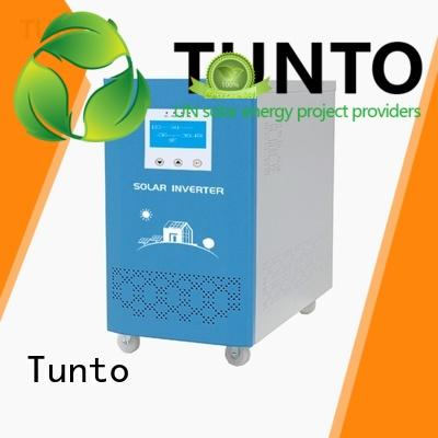 Tunto off grid solar power systems series for plaza