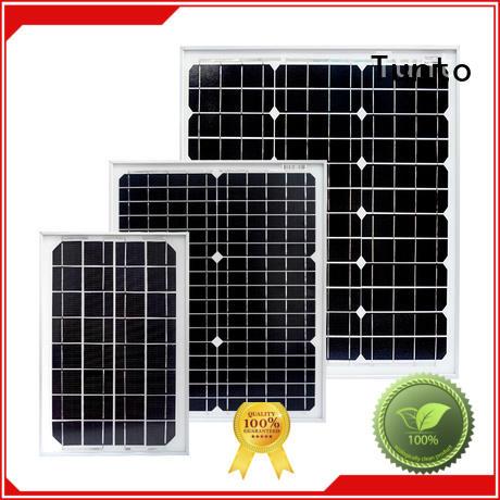 Tunto 200w monocrystalline solar panel personalized for solar plant