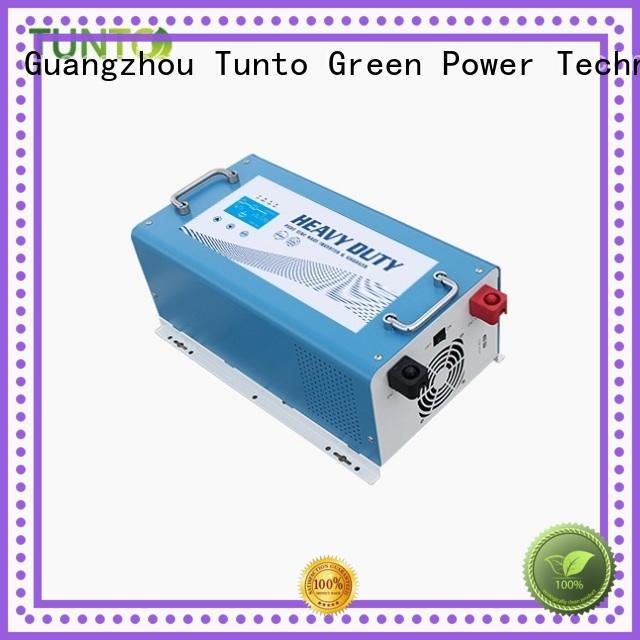 Tunto solar inverter system supplier for street lights