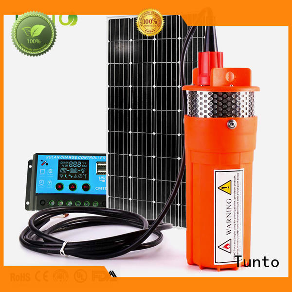 Tunto professional solar powered water pump series for irrigation