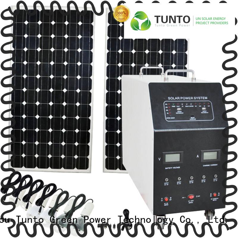 Tunto portable monocrystalline solar panel customized for road