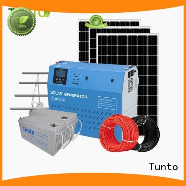 Tunto durable monocrystalline solar panel manufacturer for outdoor