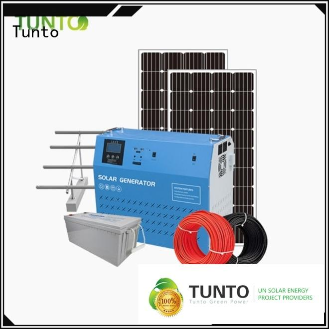 Tunto off grid power systems directly sale for street