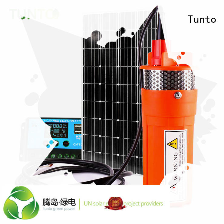 energy solar powered water pump dc Tunto company