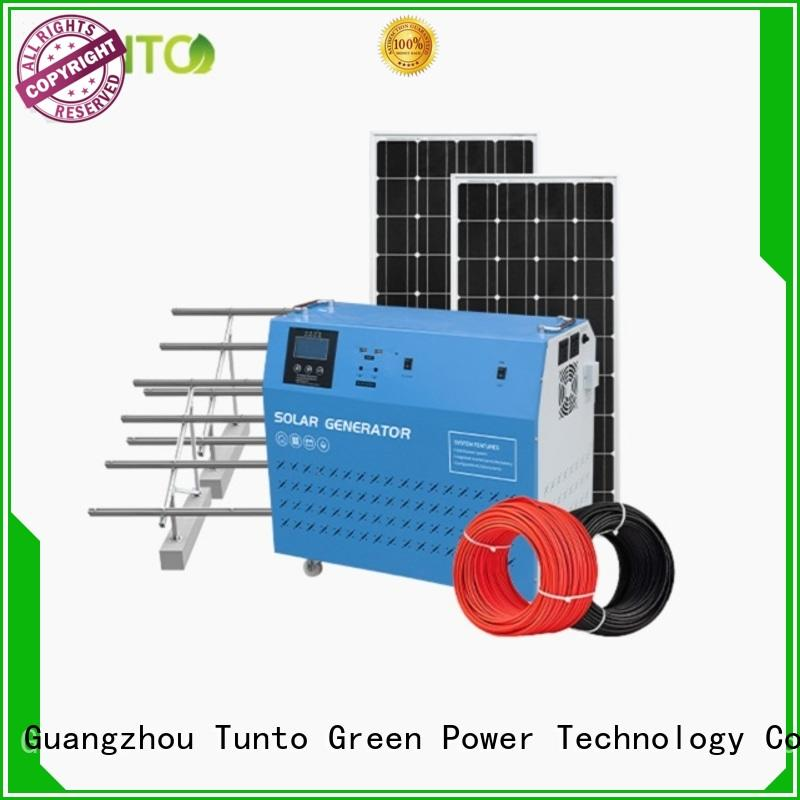 5kw portable solar power generator series for road