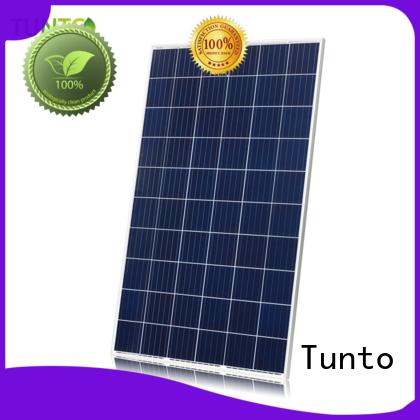Tunto polycrystalline solar panel factory price for household