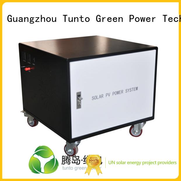 grid solar Tunto Brand led street light solar system factory