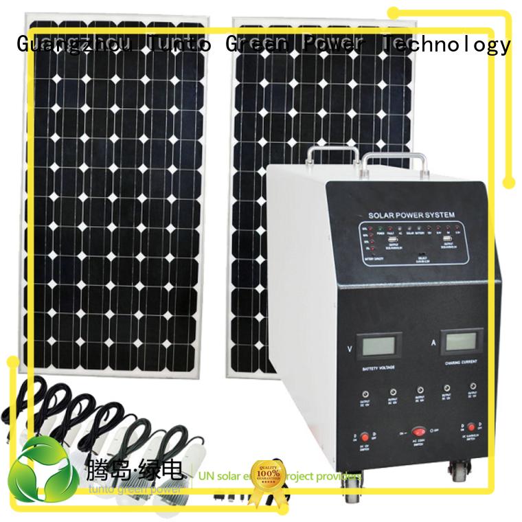 Tunto Brand system polycrystalline solar panel home factory