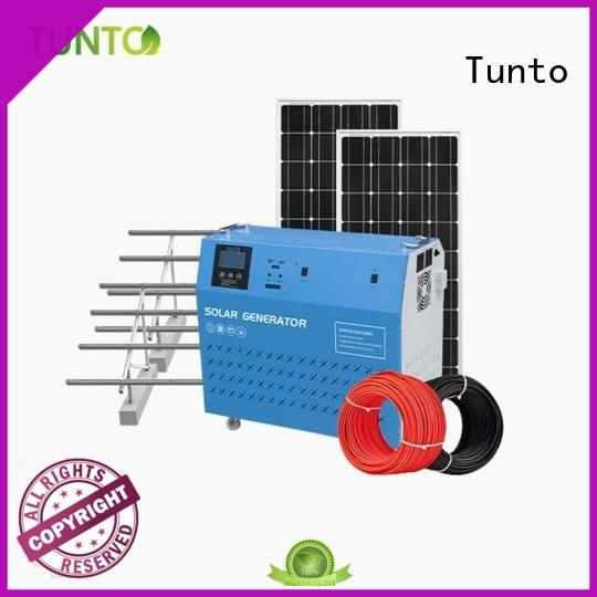Tunto 5kw polycrystalline solar cells series for road