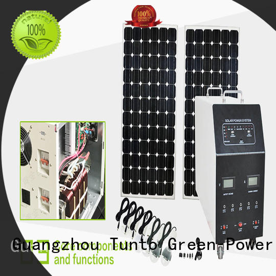 Tunto 5kw off grid power systems directly sale for outdoor
