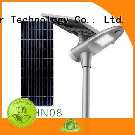 Tunto 50w commercial solar street lights personalized for outdoor