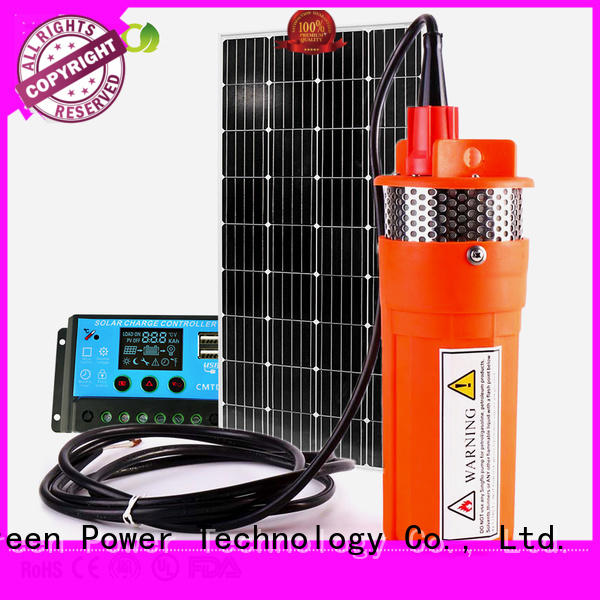 solar powered pump for irrigation Tunto