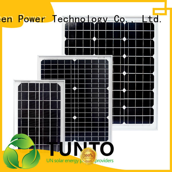 Tunto 380w monocrystalline solar panel factory price for farm