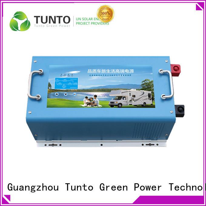 Tunto carborne hybrid solar inverter supplier for lamp