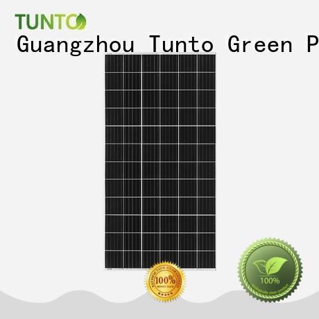 Tunto 80w monocrystalline solar panel personalized for farm