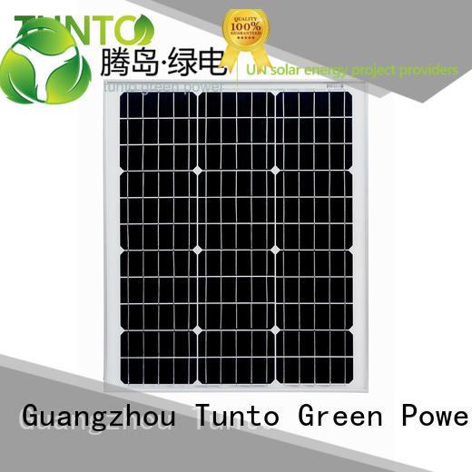 Quality Tunto Brand crystalline polycrystalline solar panel