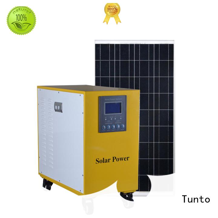 system off Tunto Brand led street light solar system