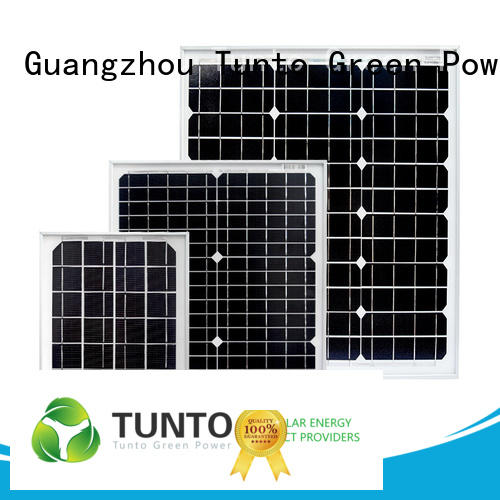 Tunto 100w best off grid solar system for street lamp